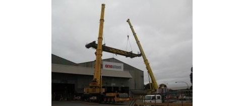 Gantry Crane Rotation